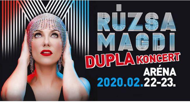 RÚZSA MAGDI KONCERT - Papp László Budapet Sportaréna 2020.02.22-23.