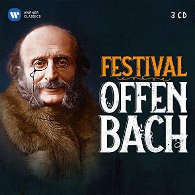 FESTIVAL OFFENBACH - OPERETTRÉSZLETEK 3CD