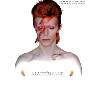 "ALADDIN SANE (140 GR 12"" SILVER-LTD.)LP"