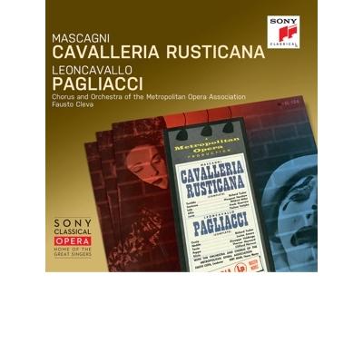 MASCAGNI/LEONCAVALLO-Cavalleria Rusticana/Pagliacci (2CD)