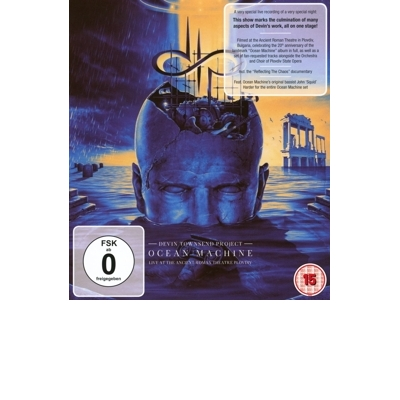 Ocean Machine - Live At the Ancient Roman Theatre Blu-Ray