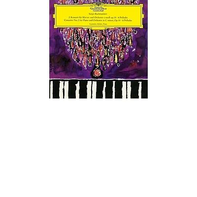 SERGEI VASSILIEVICH RACHMANINOV  Piano Concerto No. 2 Selected Préludes LP