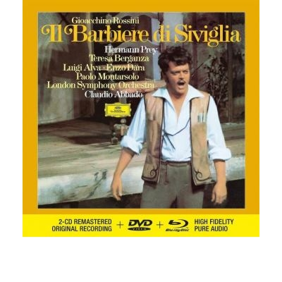 Rossini: A sevillai borbély 2CD+1Blu-Ray audió+1DVD