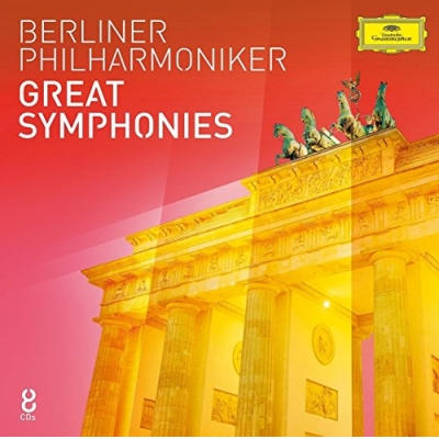 Berliner Philharmoniker-Great Symphonies (8 CD)