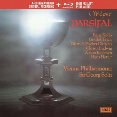 Wagner: Parsifal 4CD+1Blu-Ray audió