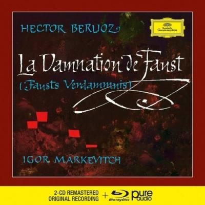 BERLIOZ: LA DAMNATION DE FAUST 2CD + Blu-Ray Audio