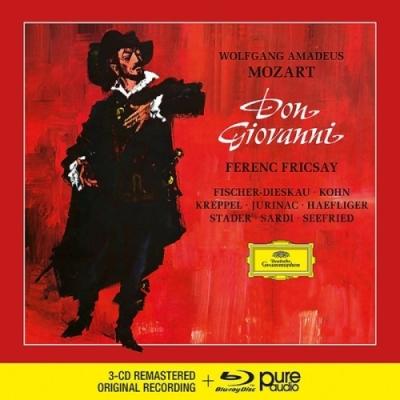 MOZART: DON GIOVANNI 3CD+Blu-Ray Audio