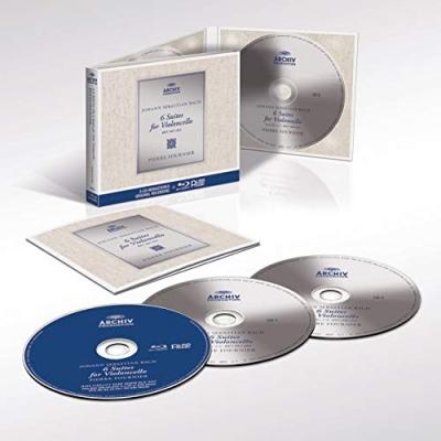 BACH:CELLO SUITES 3CD