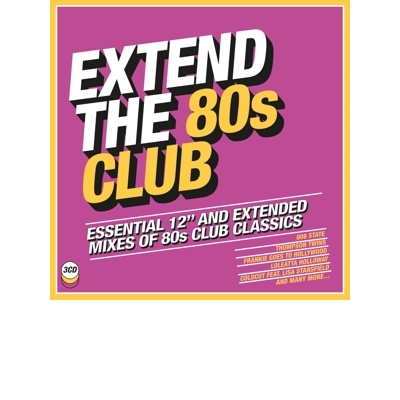 EXTEND THE 80'S - CLUB 3CD