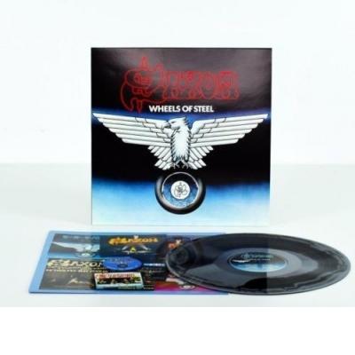 Wheels of Steel   Limited Blue & White Splatter Vinyl  , Reissue LP