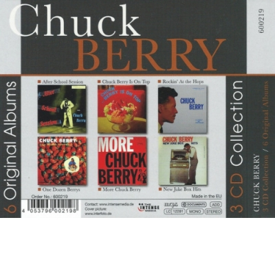 Chuck Berry - 6 Original Albums 3CD