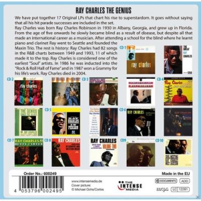 Ray Charles-17 Original Albums 10 CD