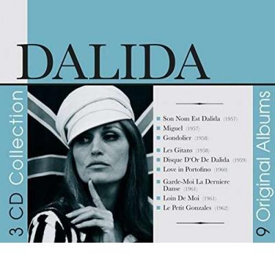 Dalida - 9 Original Albums 3CD  Digipack