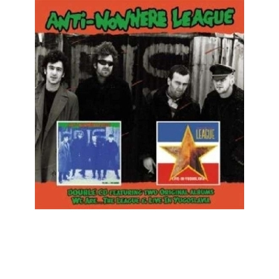 We Are the League/Live In Yugoslavia (2CD)