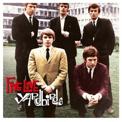 Five Live Yardbirds LP