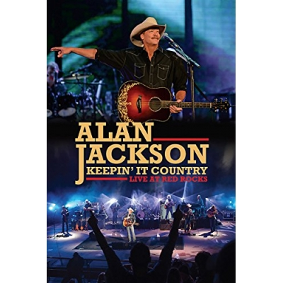 Alan Jackson - Keepin' It Country: Live AT The Red Rocks  DVD