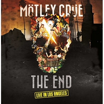 Mötley Crüe: The End - Live in Los Angeles [DELUXE CD+DVD+BLU-RAY+KÖNYV)