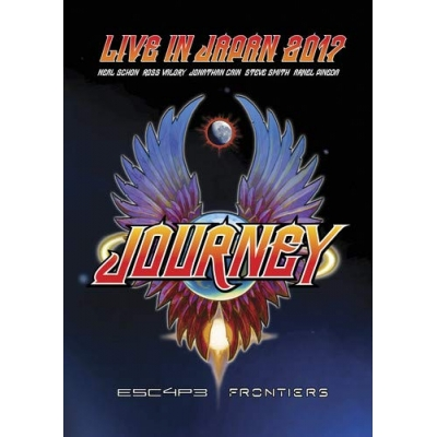 ESCAPE & FRONTIERS LIVE IN JAPAN DVD