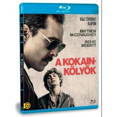 A kokainkölyök Blu-ray