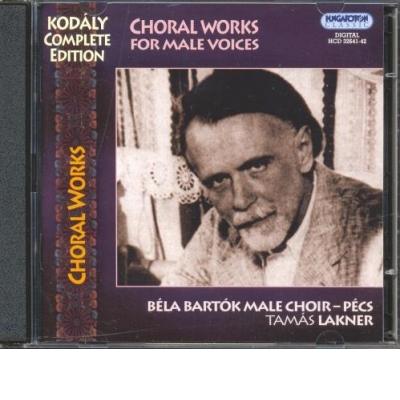 Choral Works For Male Voices (Kórusművek) (2CD)