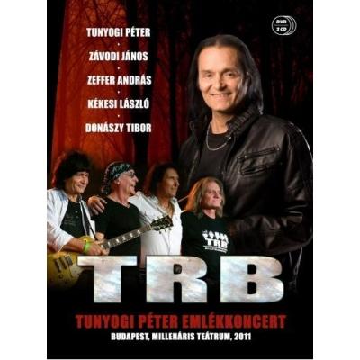 TRB: Tunyogi Péter emlékkoncert DVD + 2CD