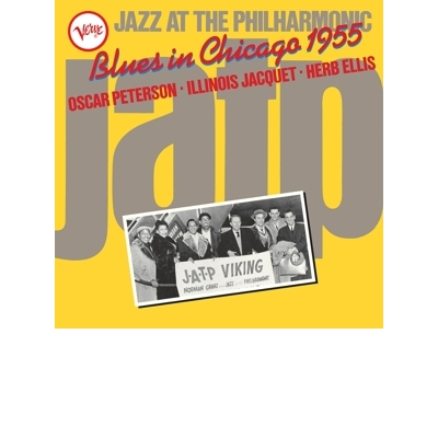 Jazz At the Philharmonic: Blues In Chicago 1955 LP