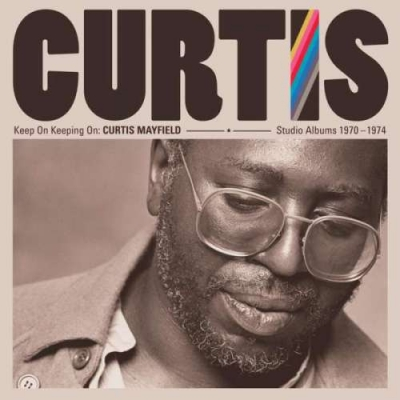 "CURTIS MAYFIELD STUDIO ALBUMS (180 GR 12""-LTD.)4LP"