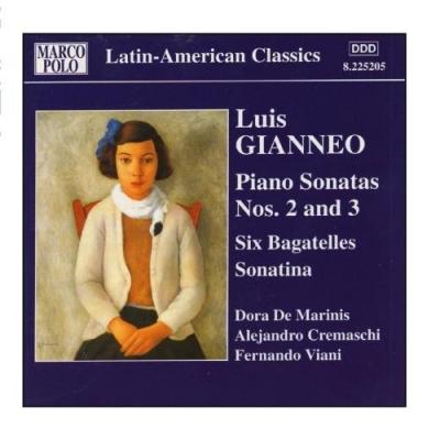 Gianneo: Piano Sonatas Nos. 2 And 3 / 6 Bagatelles