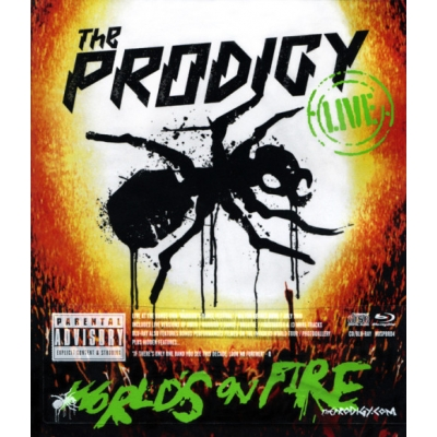 LIVE - WORLD'S ON FIRE (Blu-Ray+CD)