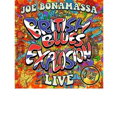 British Blues Explosion Live 3LP (coloured)