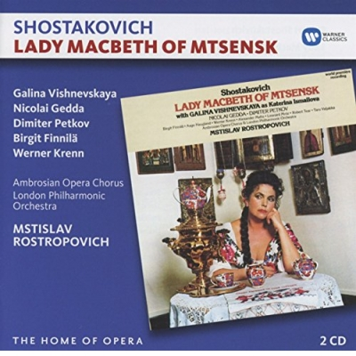 Lady Macbeth Von Mzensk (2 CD)