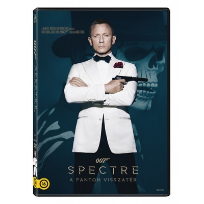 Spectre - A Fantom visszatér - duplalemezes, extra változat (2 DVD)