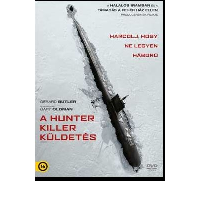 A Hunter Killer küldetés DVD