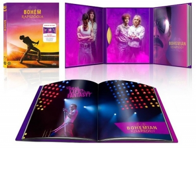 Bohém rapszódia - limitált, digibook változat Blu-Ray
