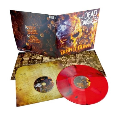 Burn It Down LTD RED LP+CD