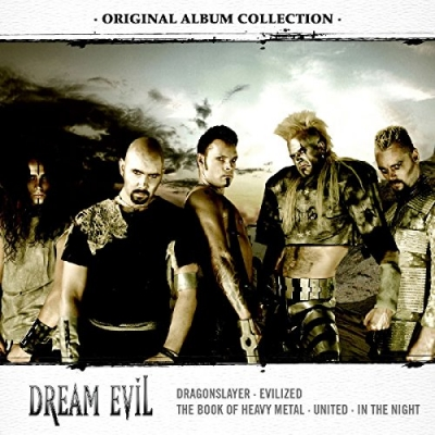 Original Album Collection: Discovering Dream Evil (Ltd. 5CD Edition)