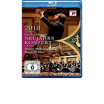 NEW YEAR'S CONCERT 2018 Blu-Ray