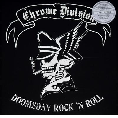 Doomsday Rock 'N Roll BLACK LP