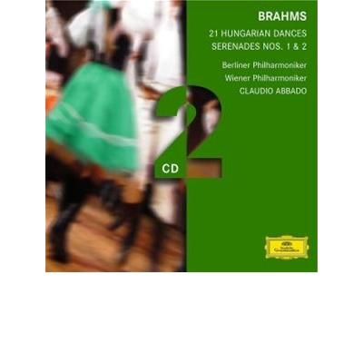 BRAHMS: 21 Hungarian Dances/Serenades Nos. 1 & 2 (2 CD)