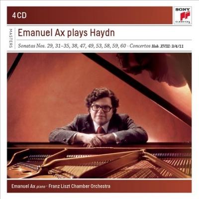 Emanuel Ax Plays Haydn Sonatas and Concertos (4 CD)