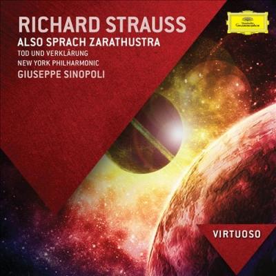 Richard Strauss: Imígyen szóla Zarathustra stb. / Sinopoli