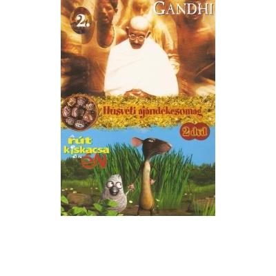 Húsvéti Ajándékcsomag 2. (A rút kiskacsa és ÉN + Gandhi) (2 DVD)