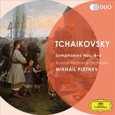 Csajkovszkij: 4., 5., 6. (Patetikus) szimfónia (2CD)