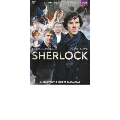 Sherlock 1. évad díszdoboz (3 DVD)