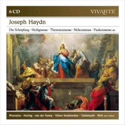 Joseph Haydn: Die Schöpfung; Heiligmesse; Theresienmesse; Nelsonmesse; Paukenmesse, Etc. (6 CD)