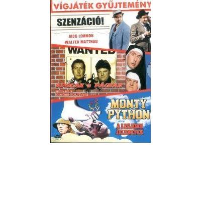 Vígjátékgyűjtemény díszdoboz (Szenzáció! - Apócák a pácban - Monty Python-A legjobb jelenetek) (3 DVD)