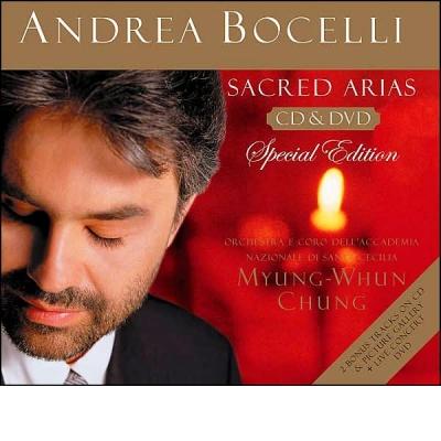 SACRED ARIAS CD+DVD