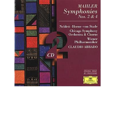 Mahler: Symphonies Nos. 2 & 4 (2 CD)