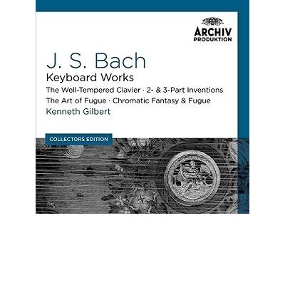 Bach: Csembalóművek  10 CD