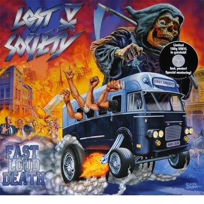 Fast Loud Death (+bonus) LTD LP